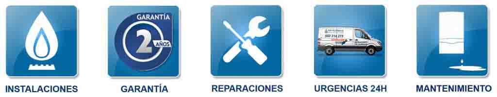 Reparación de calderas en Becerril de la sierra