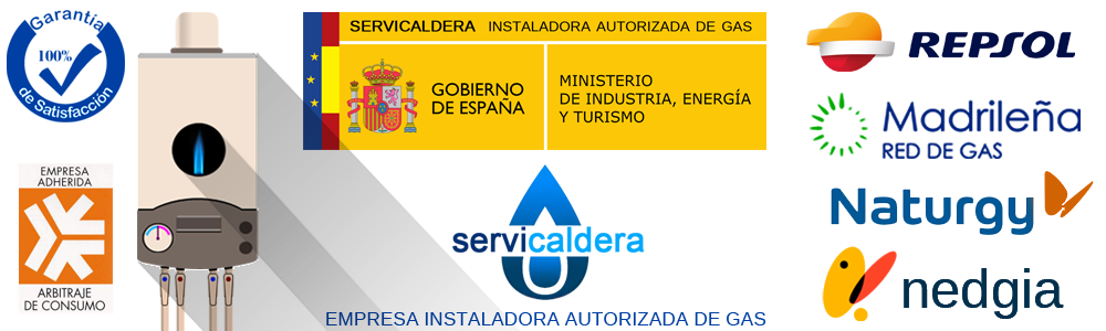 Instalador autorizado de gas en Soto del Real