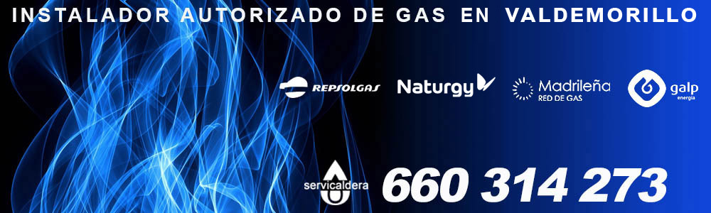 Instalador de gas autorizado en Valdemorillo