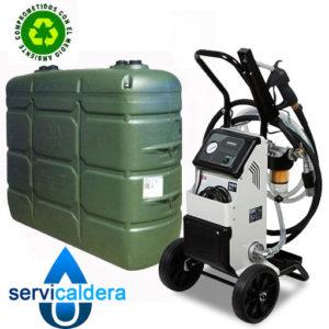 Limpieza integral de depósitos de gasoil